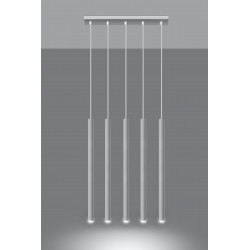 Pakabinamas šviestuvas PASTELO 5 baltas - 3 - 92,14€