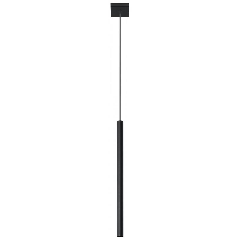 Pakabinamas šviestuvas PASTELO 1 juodas - 1 - 24,05€