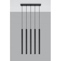 Pakabinamas šviestuvas PASTELO 5 juodas - 2 - 92,14€