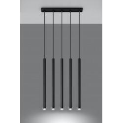 Pakabinamas šviestuvas PASTELO 5 juodas - 3 - 92,14€