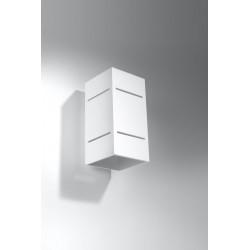Sieninis šviestuvas BLOCCO baltas - 2 - 44,52€