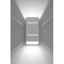 Sieninis šviestuvas BLOCCO baltas - 3 - 44,52€