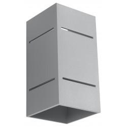 Sieninis šviestuvas BLOCCO pilkas - 1 - 44,52€