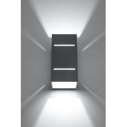 Sieninis šviestuvas BLOCCO pilkas - 3 - 44,52€