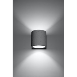 Sieninis šviestuvas ORBIS beton - 3 - 25,40€