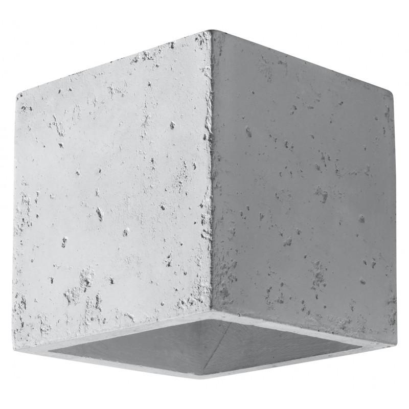 Sieninis šviestuvas QUAD beton - 1 - 25,49€
