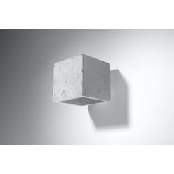 Sieninis šviestuvas QUAD beton - 2 - 25,49€