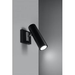 Sieninis šviestuvas DIREZIONE juodas - 3 - 30,10€