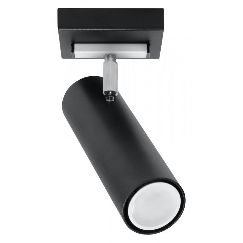Lubinis šviestuvas DIREZIONE 1 juodas - 1 - 30,12€