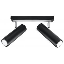 Lubinis šviestuvas DIREZIONE 2 juodas - 1 - 53,36€