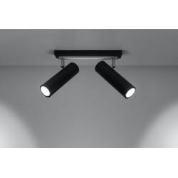 Lubinis šviestuvas DIREZIONE 2 juodas - 3 - 53,36€