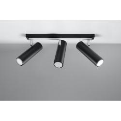 Lubinis šviestuvas DIREZIONE 3 juodas - 2 - 74,20€