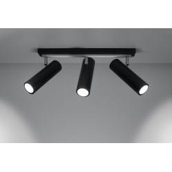 Lubinis šviestuvas DIREZIONE 3 juodas - 3 - 74,20€