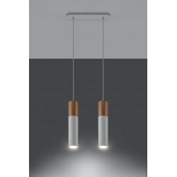 Pakabinamas šviestuvas PABLO 2 baltas - 3 - 64,76€