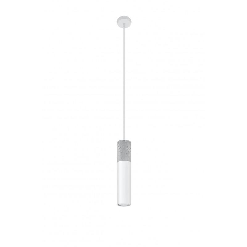 Pakabinamas šviestuvas BORGIO 1 baltas - 1 - 37,86€