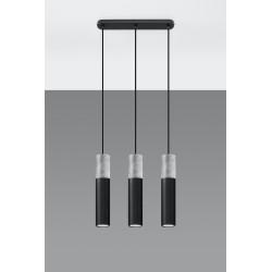 Pakabinamas šviestuvas BORGIO 3 juodas - 4 - 104,62€