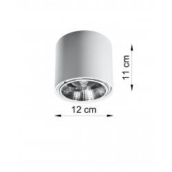 Plafonas TIUBE baltas - 3 - 25,89€