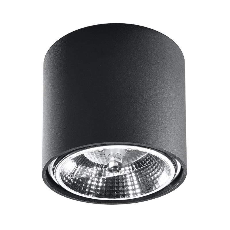 Plafonas TIUBE juodas - 1 - 25,89€