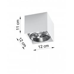 Plafonas BLAKE baltas - 3 - 25,89€