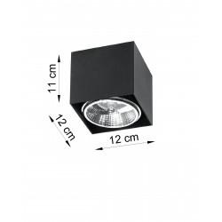 Plafonas BLAKE juodas - 3 - 25,89€