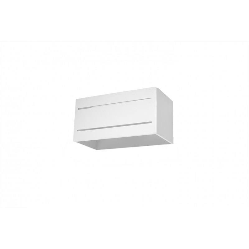 Sieninis šviestuvas LOBO MAXI 2 baltas - 1 - 45,83€
