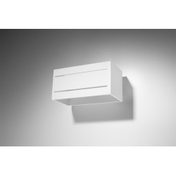 Sieninis šviestuvas LOBO MAXI 2 baltas - 2 - 45,83€