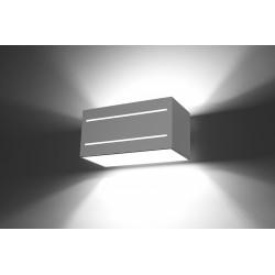 Sieninis šviestuvas LOBO MAXI 2 baltas - 3 - 45,83€