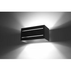 Sieninis šviestuvas LOBO MAXI 2 juodas - 3 - 45,83€
