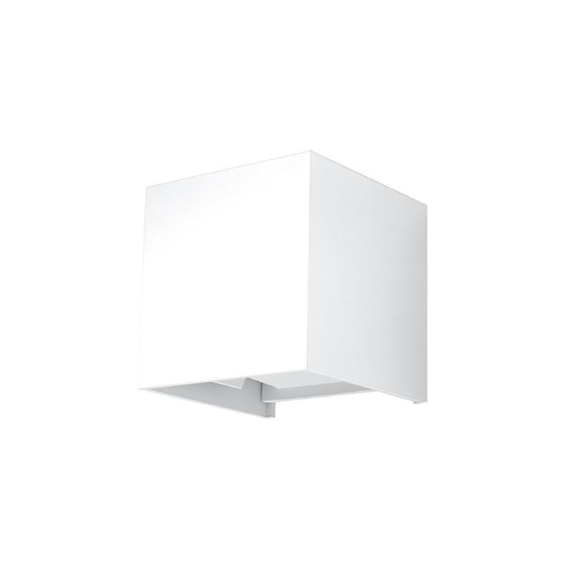 Sieninis šviestuvas LUCA baltas LED IP54 - 1 - 46,06€