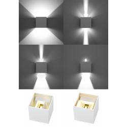 Sieninis šviestuvas LUCA baltas LED IP54 - 4 - 46,06€