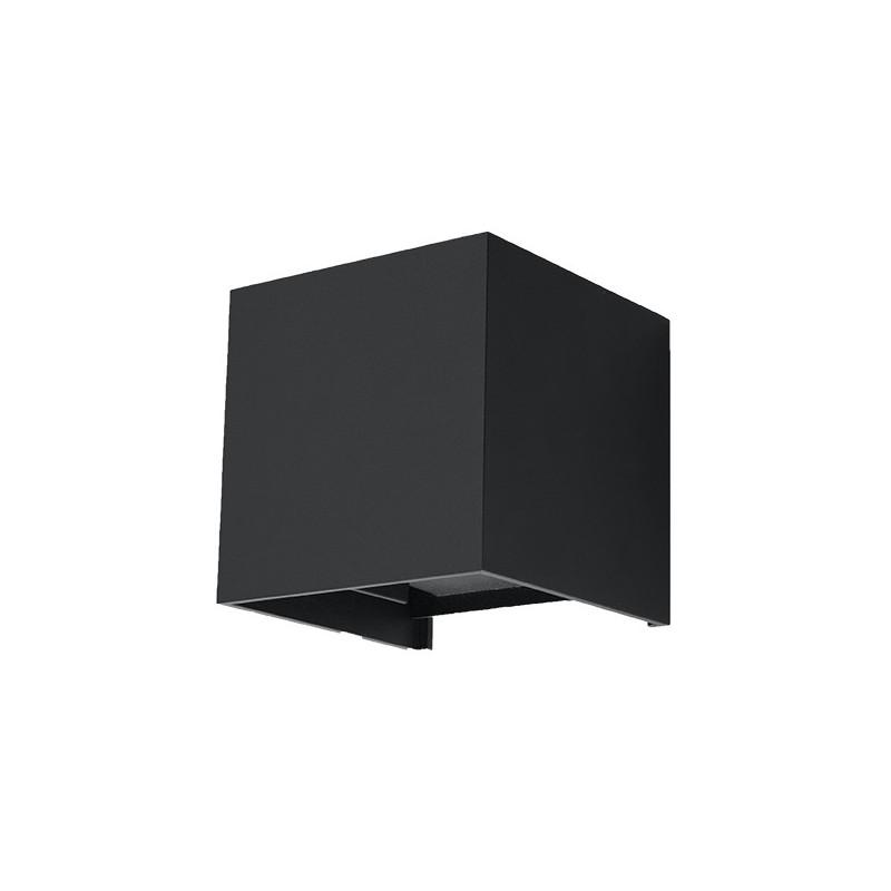 Sieninis šviestuvas LUCA juodas LED IP54 - 1 - 46,06€