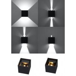 Sieninis šviestuvas LUCA juodas LED IP54 - 4 - 46,06€