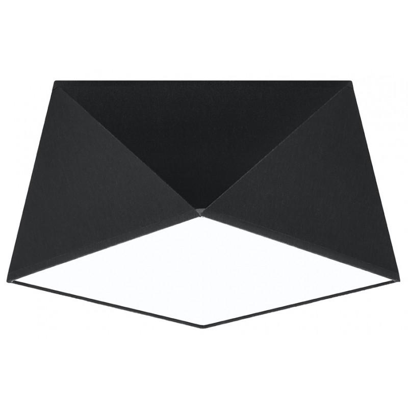 Plafonas HEXA 25 juodas - 1 - 46,81€