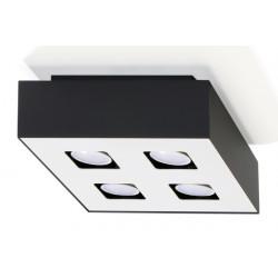 Plafonas MONO 4 juodas - 1 - 47,86€