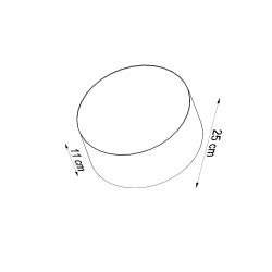 Sieninis šviestuvas ARENA pilkas - 4 - 48,10€