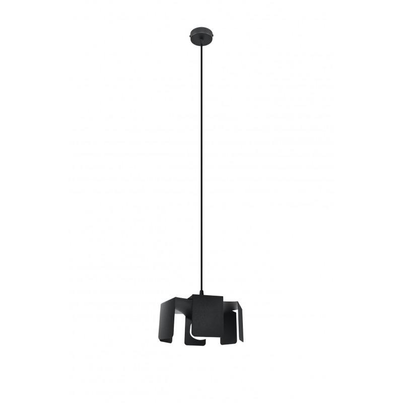 Pakabinamas šviestuvas TULIP juodas - 1 - 48,82€