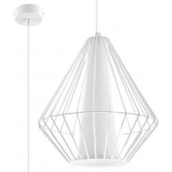 Pakabinamas šviestuvas DEMI baltas - 1 - 49,46€
