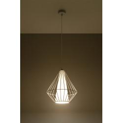 Pakabinamas šviestuvas DEMI baltas - 3 - 49,46€