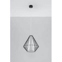 Pakabinamas šviestuvas DEMI juodas - 2 - 49,46€