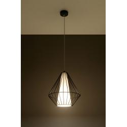 Pakabinamas šviestuvas DEMI juodas - 3 - 49,46€