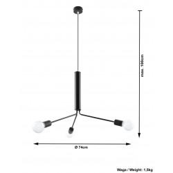 Lubinis šviestuvas DUOMO 3D - 4 - 49,69€