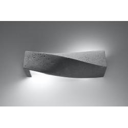 Sieninis šviestuvas SIGMA betono - 3 - 49,82€
