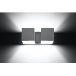 Sieninis šviestuvas QUAD 2 baltas - 4 - 49,82€