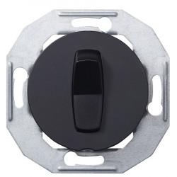 Schneider Electric Renova serijos vienos grupės perjungiklis juodas