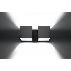 Sieninis šviestuvas QUAD 2 pilkas - 4 - 49,82€