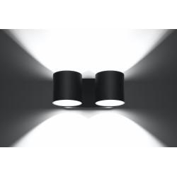 Sieninis šviestuvas ORBIS 2 juodas - 4 - 49,82€
