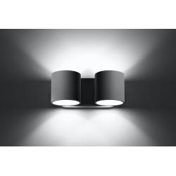 Sieninis šviestuvas ORBIS 2 pilkas - 4 - 49,82€
