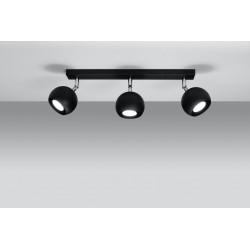 Lubinis šviestuvas OCULARE 3 juodas - 3 - 51,12€