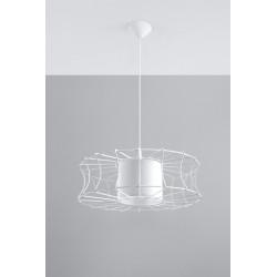 Pakabinamas šviestuvas SALERNO baltas - 2 - 51,12€