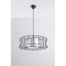 Pakabinamas šviestuvas SALERNO juodas - 2 - 51,12€